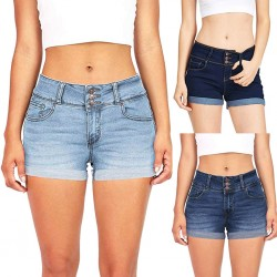 Womail Women Shorts Summer Jeans Slim Washed Ripped Hole Short Mini Jeans Denim Sexy Shorts Casual Denim Color