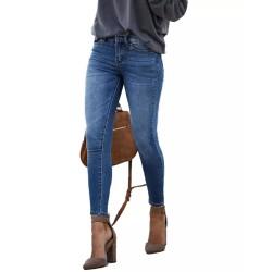 Hot Sale Women's Skinny Jeans Fashion Casual Elastic Slim Denim Jeans Ankle-Length Pencil Pants S-2XL drop shipping