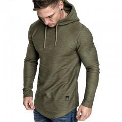 2020 new men's brand solid color sweatshirt fashion men's hoodie spring and autumn winter hip hop hoodie men's long sleeve
