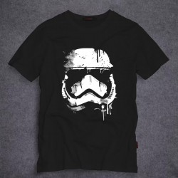 2017 Latest Fashion Star-Wars Stormtrooper T Shirts Men Short Sleeve O Neck Top Tees Short Sleeve 100% Cotton t-shirt