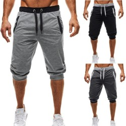 M-3XL Summer 2019 Man's Shorts Casual Shorts Sweatpants Fitness Short Jogger male clothing