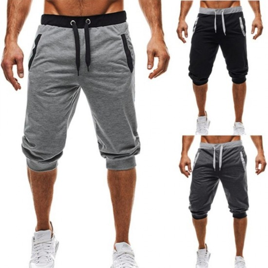 M-3XL Summer 2019 Man's Shorts Casual Shorts Sweatpants Fitness Short Jogger male clothing