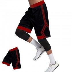 Athlete new men's shorts compression breathable fitness training basketball football quick-drying sports shorts size M-3XL