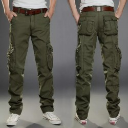 Cargo Pants Men Combat SWAT Army Military Pants Cotton Many Pockets Stretch Flexible Man Casual Trousers  Plus Size 28- 38 40