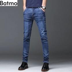 Batmo 2019 new arrival high quality casual slim jeans men ,men's pencil pants ,skinny jeans men Z005