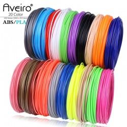 Aveiro 50/100/200 Meter 1.75mm ABS PLA Material,Filament 3d Refill 3d handle plastic for 3 D Pen school drawing supplies