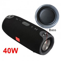 Wireless Bluetooth Super Bass Speaker Waterproof Portable Outdoor Mini Column Loudspeaker Sport Hifi Boombox Stereo Fm Subwoofer