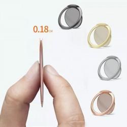 Luxury Metal Mobile Phone Socket Holder Universal 360 Degree Rotation Finger Ring Holder Magnetic For IPhone X 11 Samsung Xiaomi