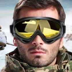Ski Goggles Double Layers UV Winter Snow Sports Snowboard Snowmobile Anti-fog Goggles Windproof Dustproof Cycling Glasses
