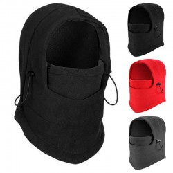 1pcs  Outdoor Windproof  Warm Fleece Scarf Face Mask Neck Warmer Hat Cap For Outdoor Sports 3 Colors