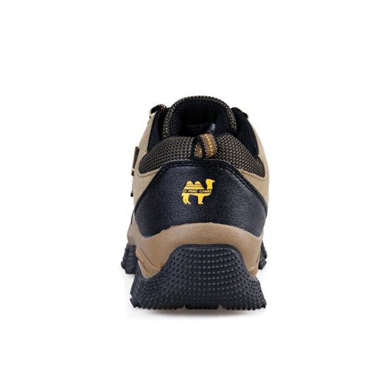 Vancat 2019 New Brand spring Fashion Outdoors sneakers Waterproof Men's shoes Mens Combat Desert Casual Shoes Plus Size 36-47