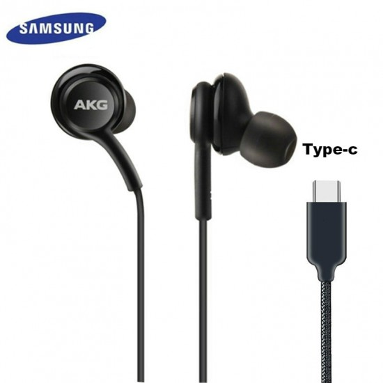 AKG samsung Earphone IG955 Type-c /3.5mm In-ear Mic wired headset for Galaxy S21 S20 note10 20 Ultra S10 S9 S8 S7 huawei xiaomi