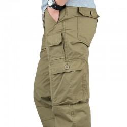 ICPANS Tactical Pants Men Military Army Black Cotton ix9 Zipper Streetwear Autumn Winter Cargo Pants Men military style Trousers